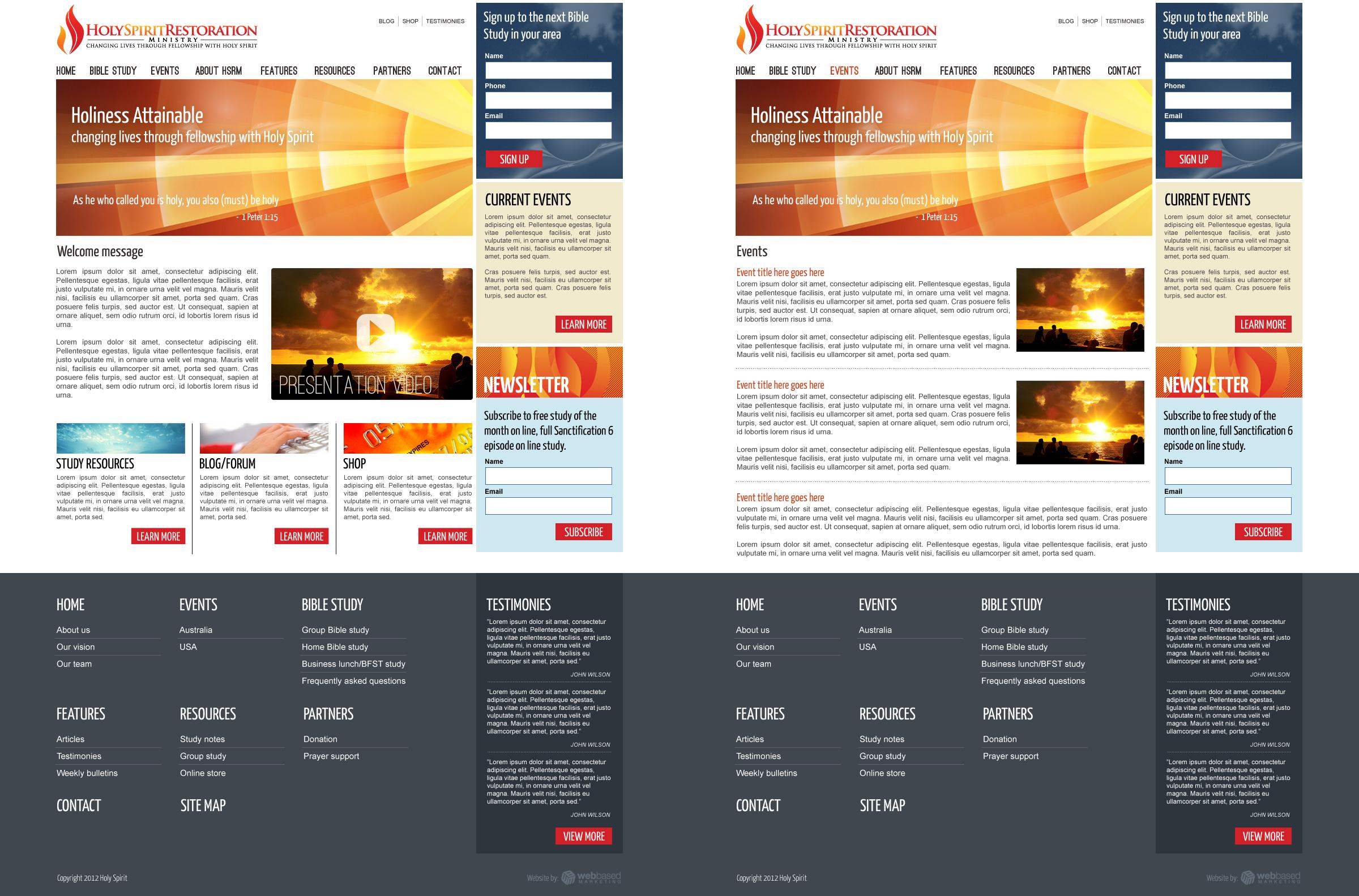 Layout Design Portfolio – Proposal Layouts